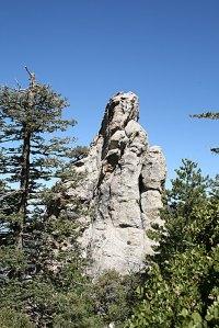 Tahquitz Peak Rock