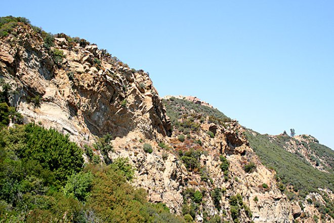 Hondo Canyon Cliffs