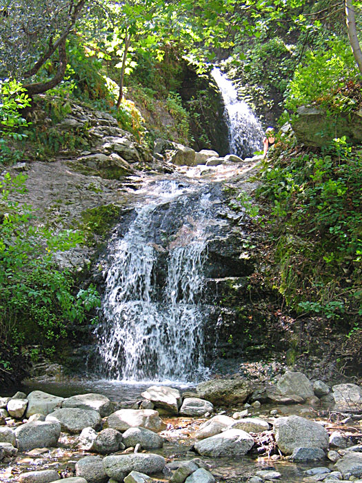 west fork waterfall