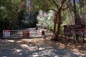 Fryman Canyon Trailhead