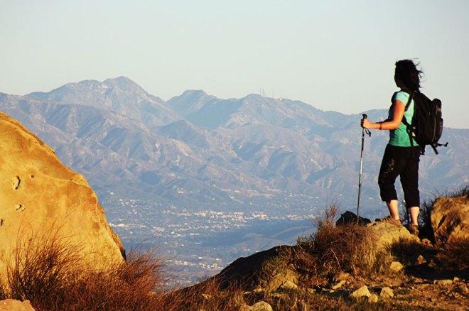 Reaching Rocky Peak