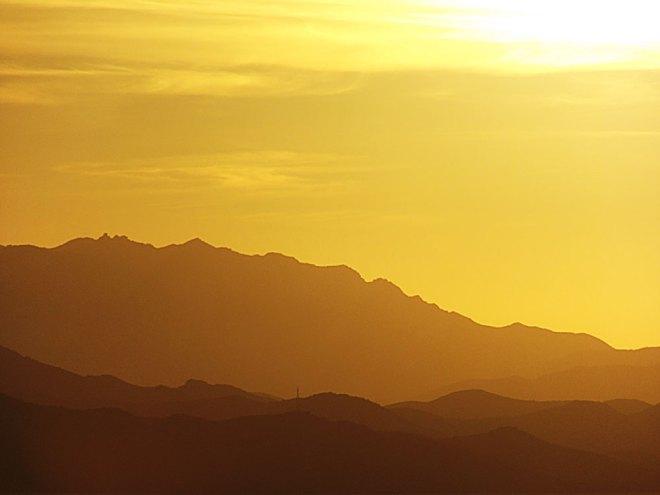 Rocky Peak Sunset