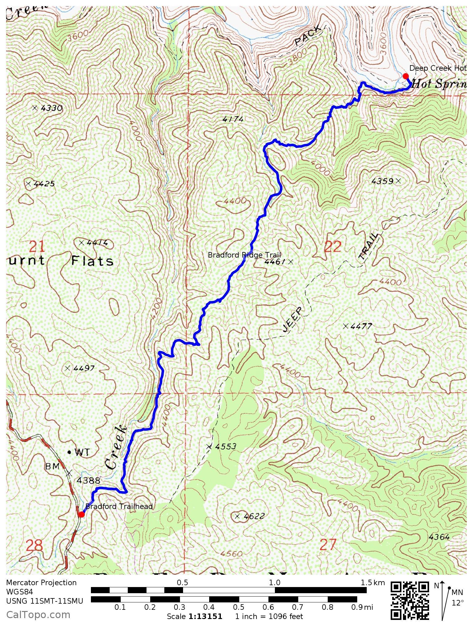 Deep Creek Hot Springs My Favorite Hikes