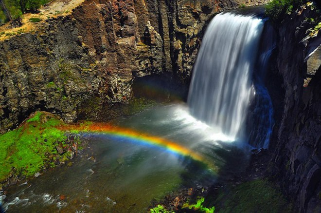 rainbow-falls-mammoth
