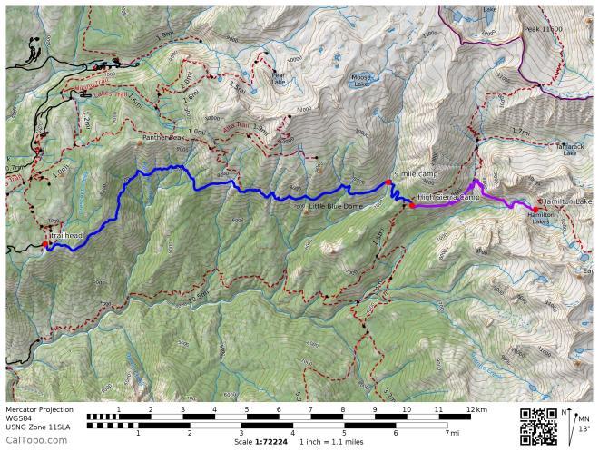 high_sierra_trail_to_hamilton_lake_detail